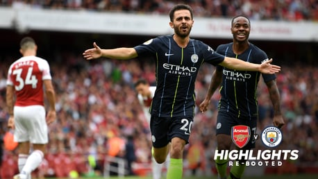 REBOOTED: Enjoy our win over Arsenal again...with alternative angles, social media reaction and fan interaction.