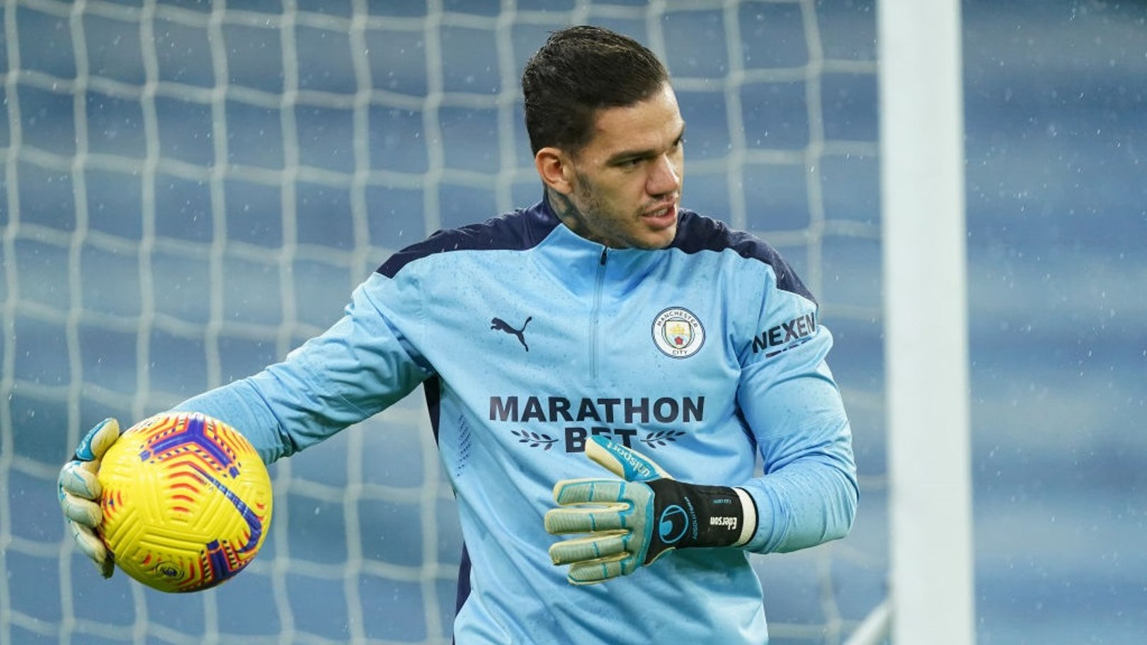 Ederson returns as City make four changes