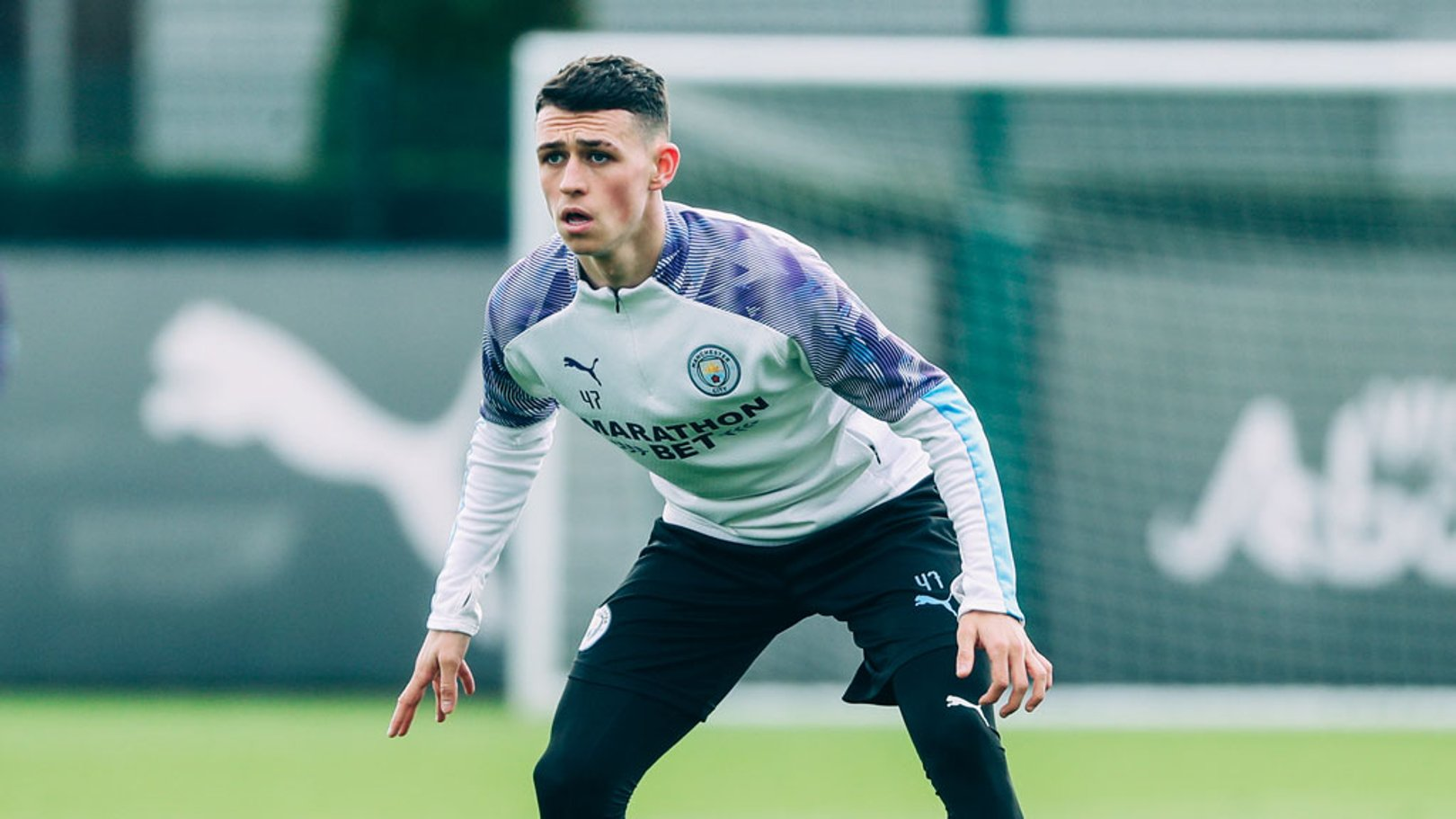 Phil Foden training 11 March