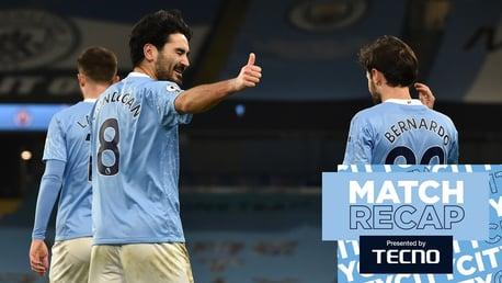 แมนฯซิตี้ v สเปอร์ส: Match Recap