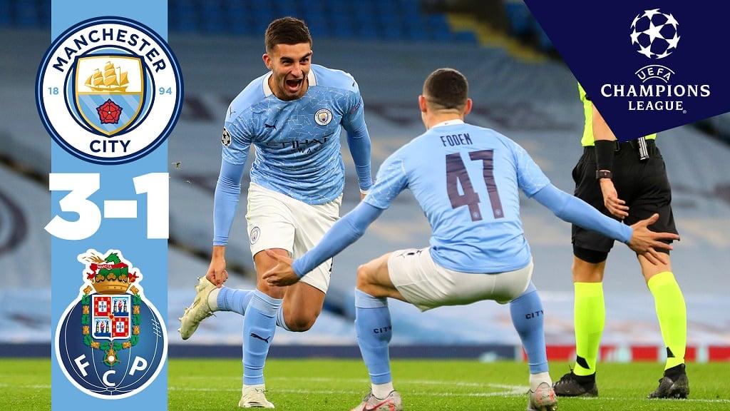 City 3-1 Porto: resumen