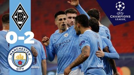 'Gladbach 0-2 Man City: resumen