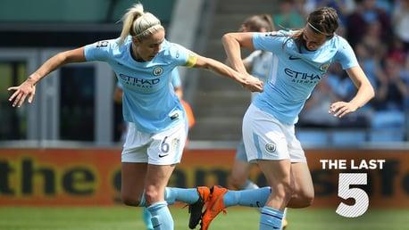 LAST 5: Everton Ladies v City.