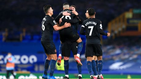Everton 1-3 City: les plus beaux moments