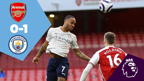 Arsenal 0-1 City: Full Match Replay