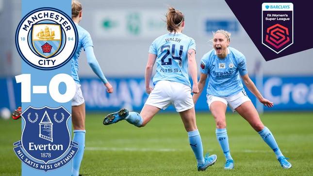 City 1-0 Everton: Match Highlights