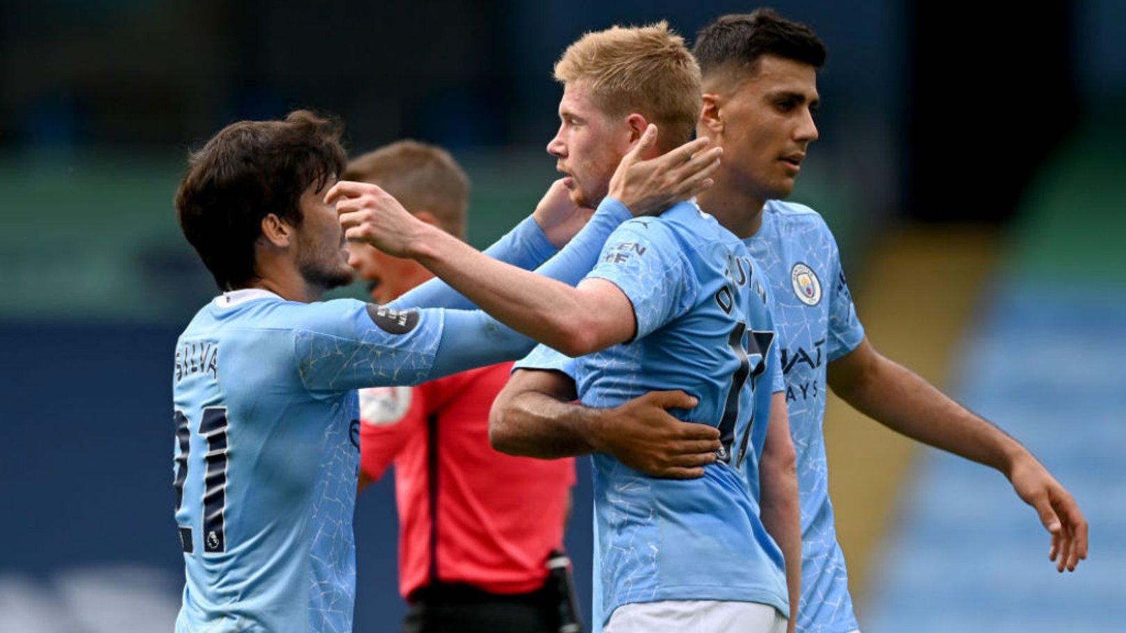 Silva, De Bruyne nominated for July Goal of the Month award