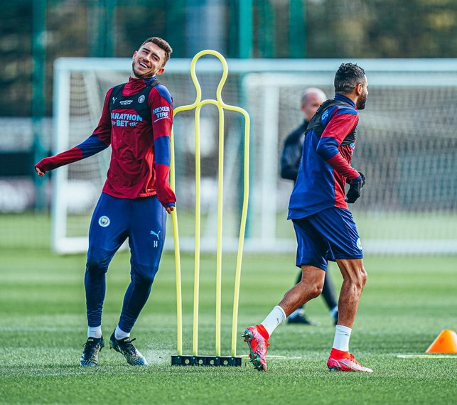 WARM UP: Limbering up for Leicester