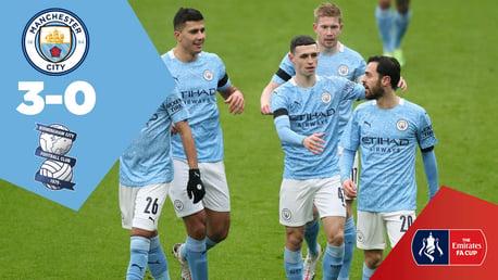City 3-0 Birmingham: Full-match replay
