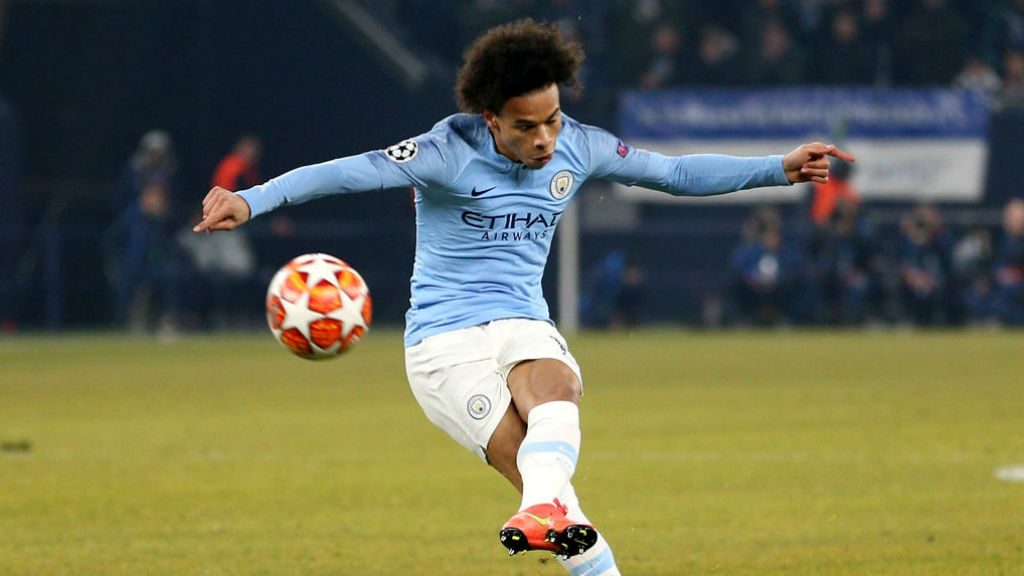 Leroy Sane fires a rocket of a free-kick into the back of the net to draw the score level at 2-2!