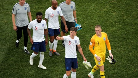 ENGLAND: Four City players have been called up by Gareth Southgate