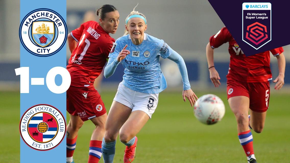 Match highlights: City 1-0 Reading