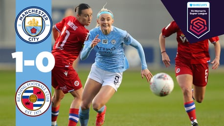 Cuplikan Pertandingan MCWFC: City 1-0 Reading
