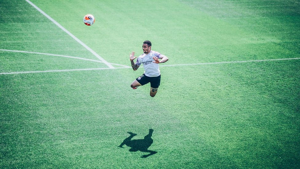 Gabriel Jesus takes a leap of faith