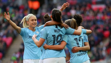 DERBY DELIGHT: City will face United at home in the opening game of the 2019/20 FA WSL season