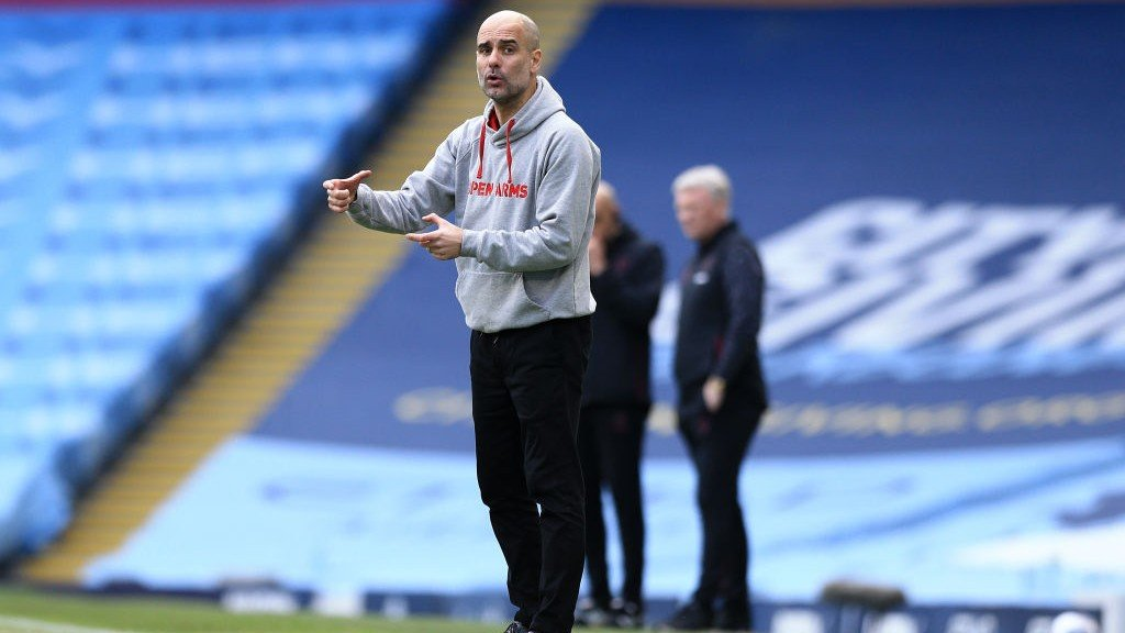 Squad spirit key to 20-game winning run, says Guardiola