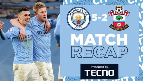 City 5-2 Southampton: Match recap