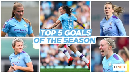 Jill Scott's top five goals of the season