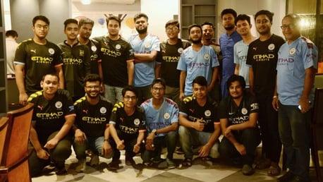 Bangladesh Official Supporters Club make a difference with charity work