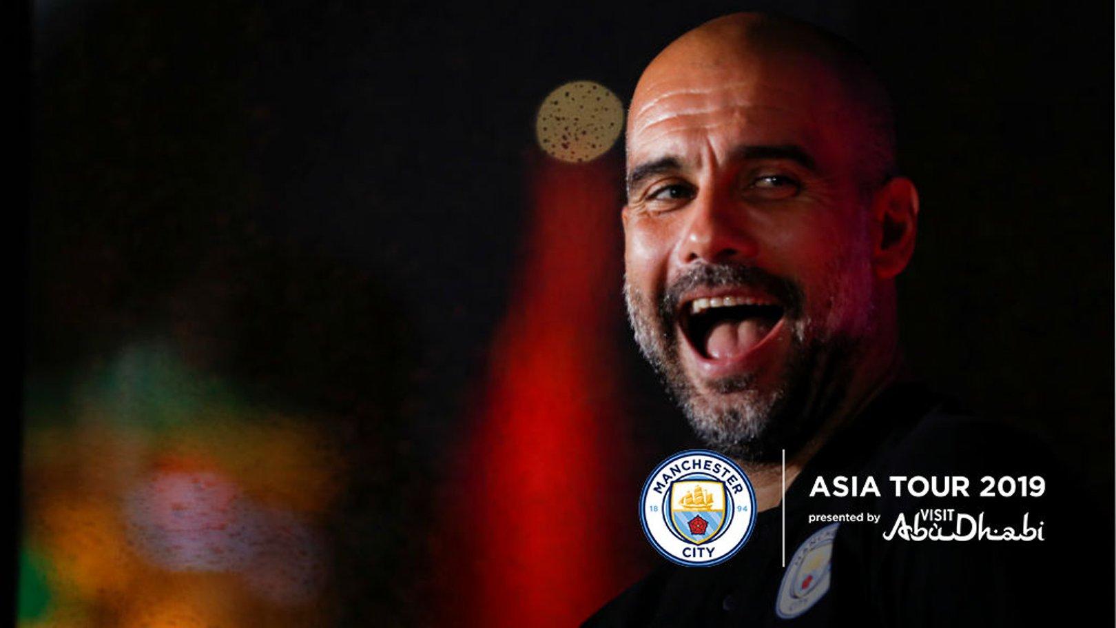 """Guardiola: """"A tour na Ásia tem sido incrível"""""""