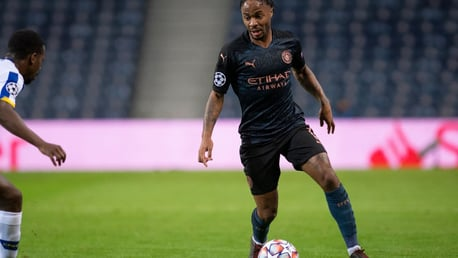 CAUSING A STER: Raheem looks to take on his man