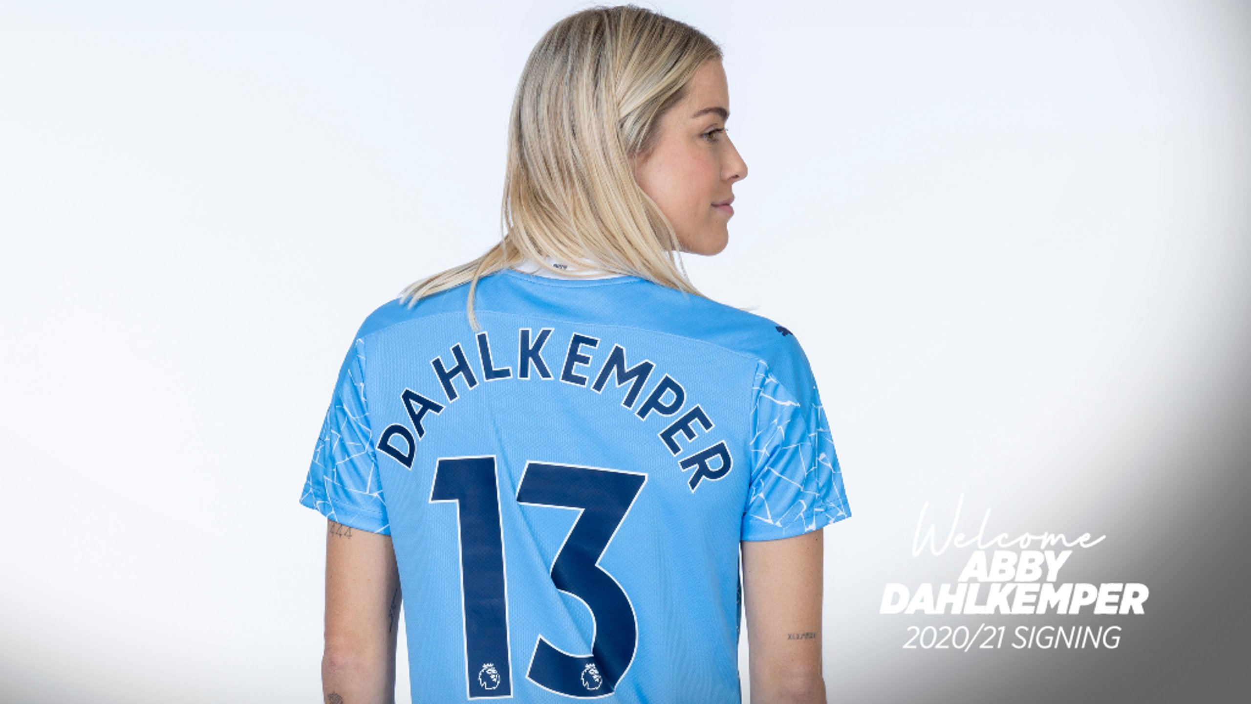 New blue: Dahlkemper joins the ranks