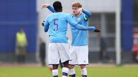 ON TARGET: Tommy Doyle scored his second goal in a week as the EDS draw 2-2 with Everton.