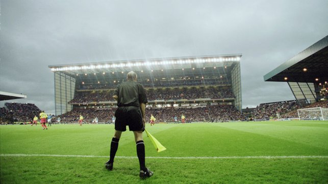 UNDER THE LIGHTS : Our 2001 game v Watford.