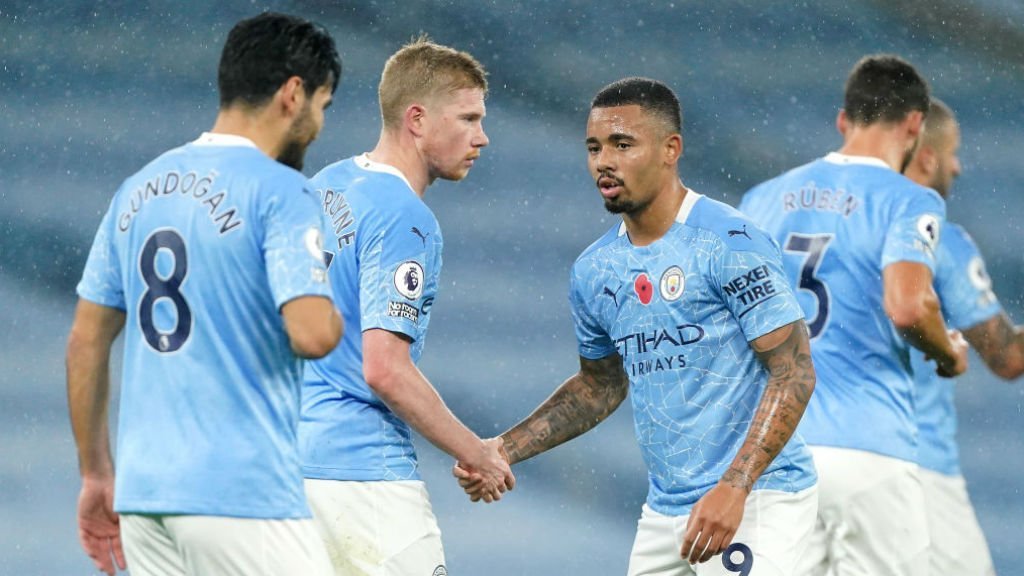 A host of City stars on November international duty