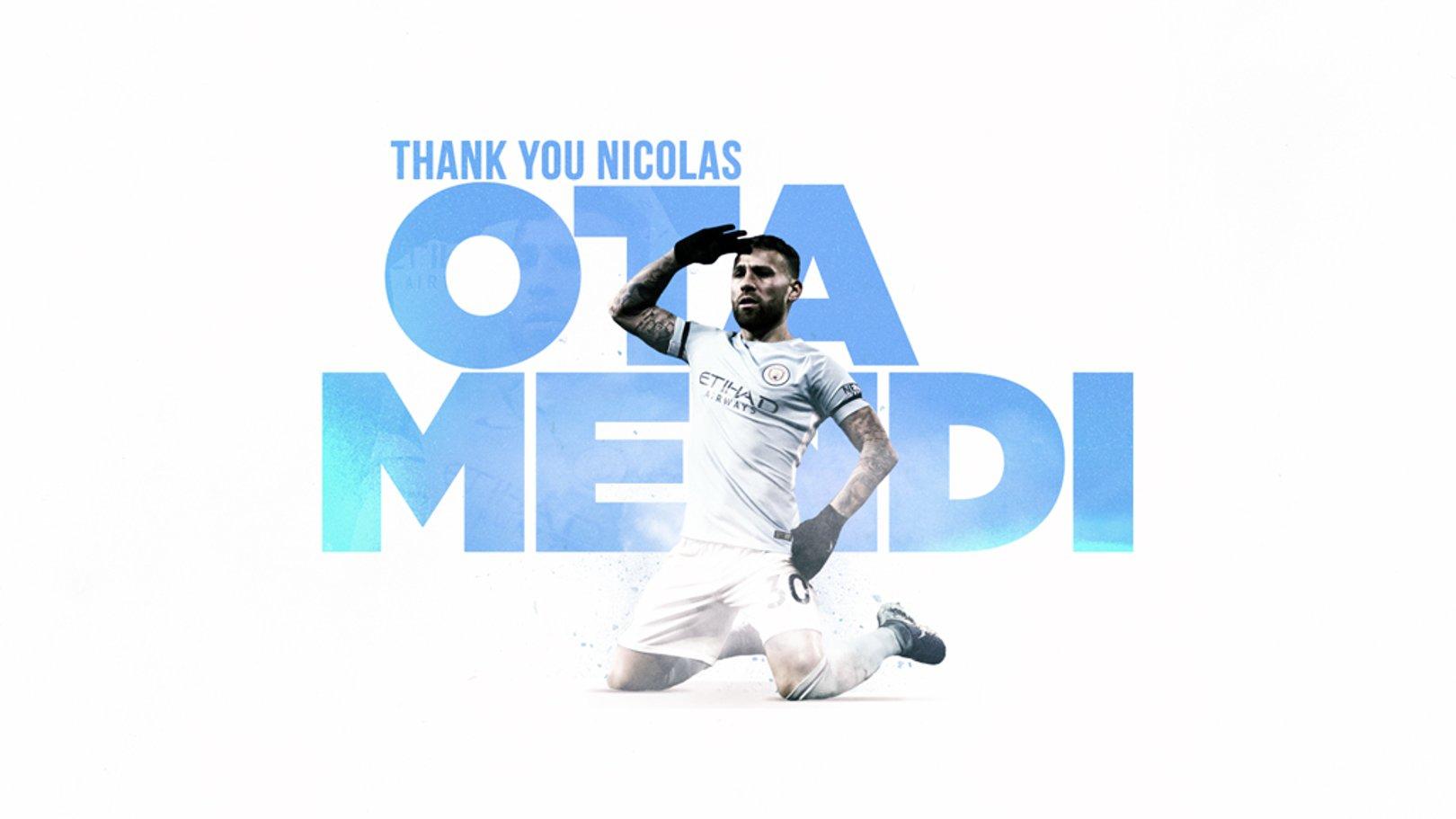 Nicolas Otamendi joins Benfica