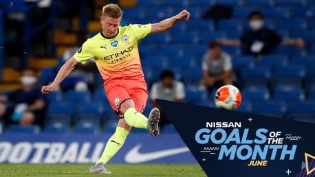 Pilih Nissan Goal Of The Month Bulan Juni!