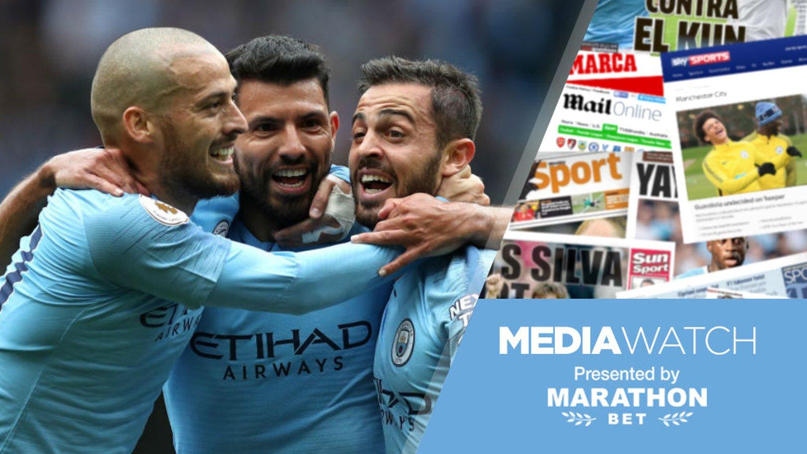 Media watch: Praise for City's Silva streak!