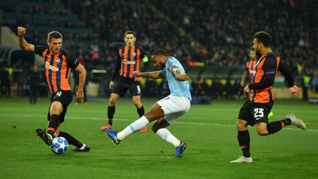 Which TV channel is Shakhtar Donetsk v City on?