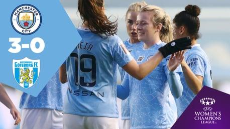 Full-match Replay: City 3-0 Goteborg
