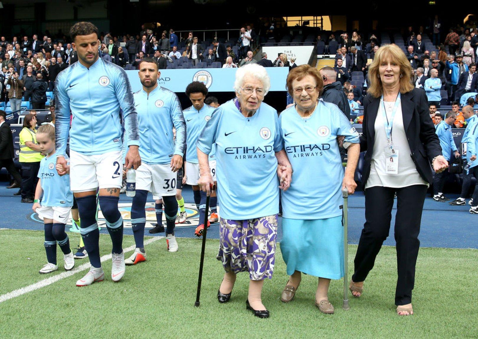 Lifelong Blue Olga Halon celebrates City Century