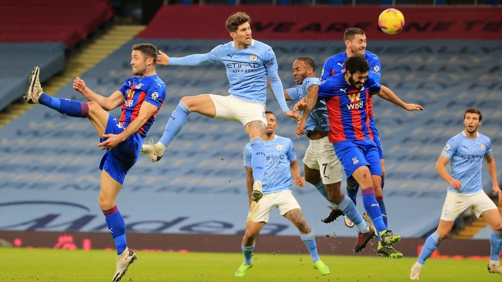 City 4-0 Crystal Palace: Brief highlights