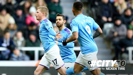 #City30: A belter from De Bruyne!
