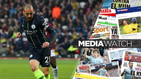 JUST CAPITAL: David Silva was at his mesmerising best in City's 4-0 win at West Ham on Saturday