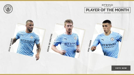 Vote for your Etihad Player of the Month