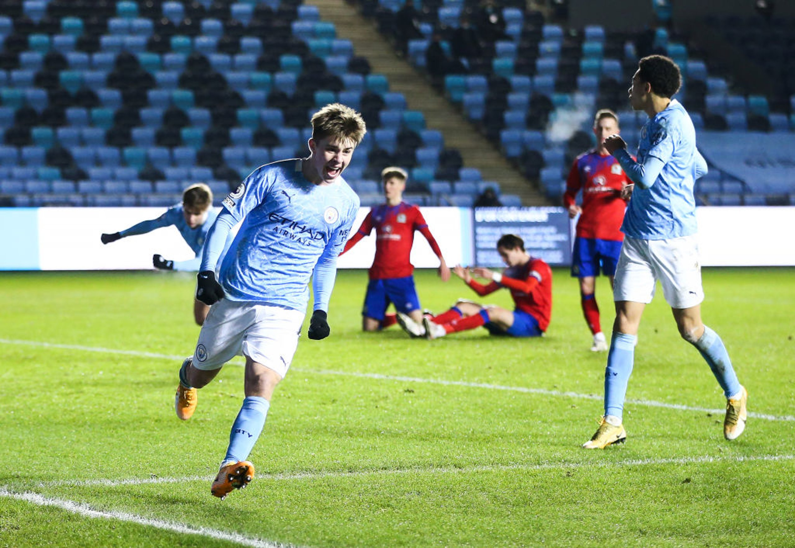 EDS come from behind to draw with Blackburn