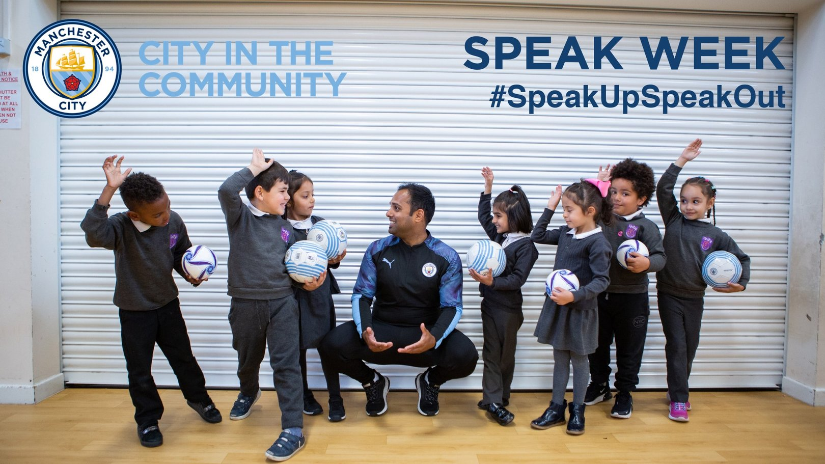 City In The Community celebrates Speak Week