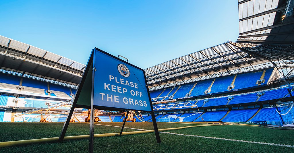 NO ENTRY: For now... but we'll be ready for when football does return