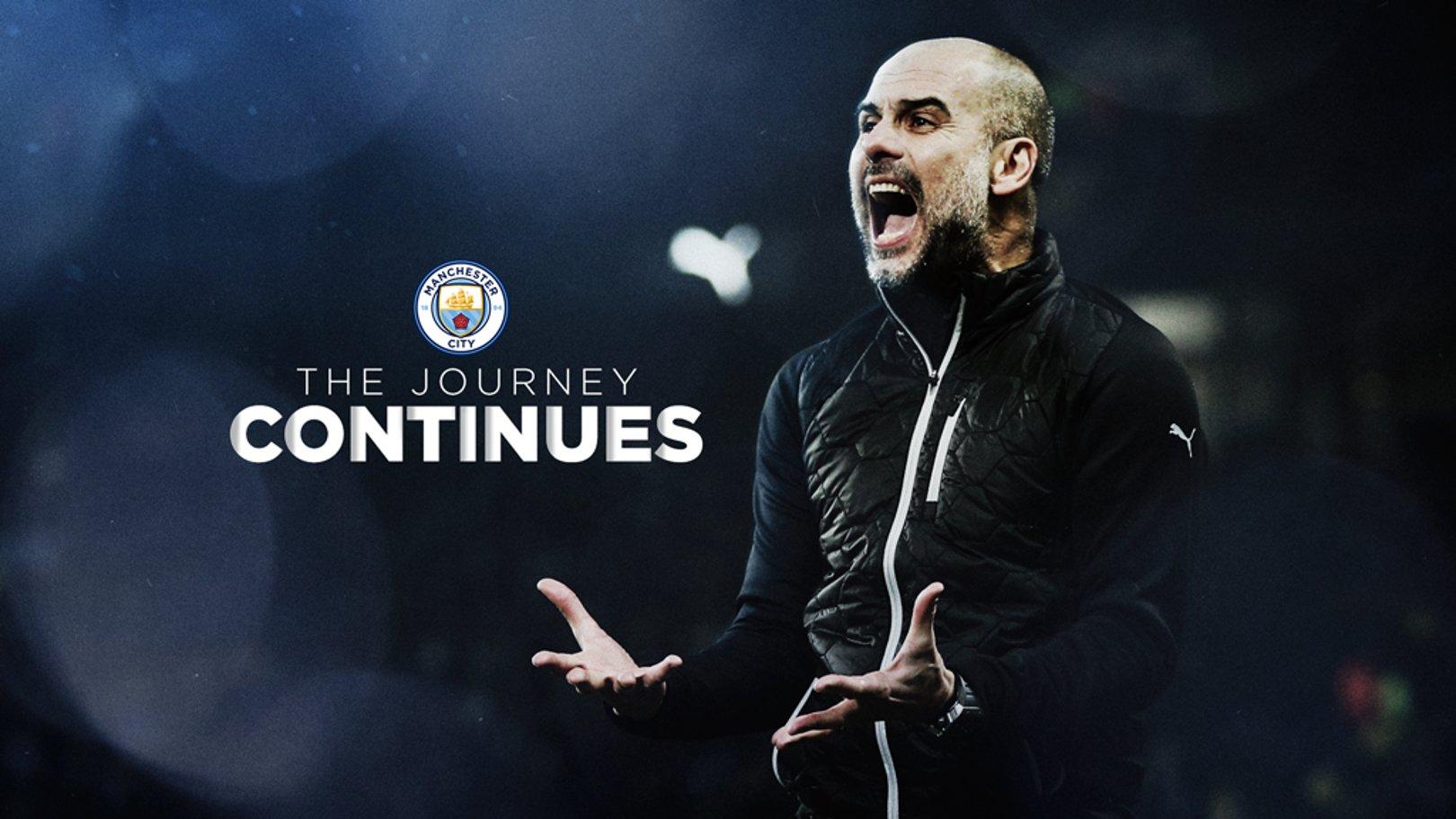Guardiola signs new City deal!