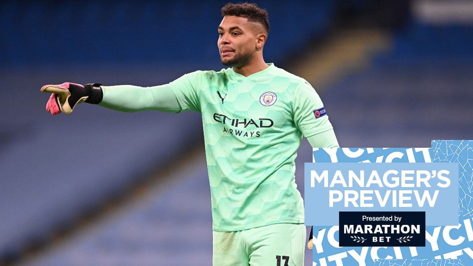 Pep Guardiola: Zack Steffen can fight for No.1 spot