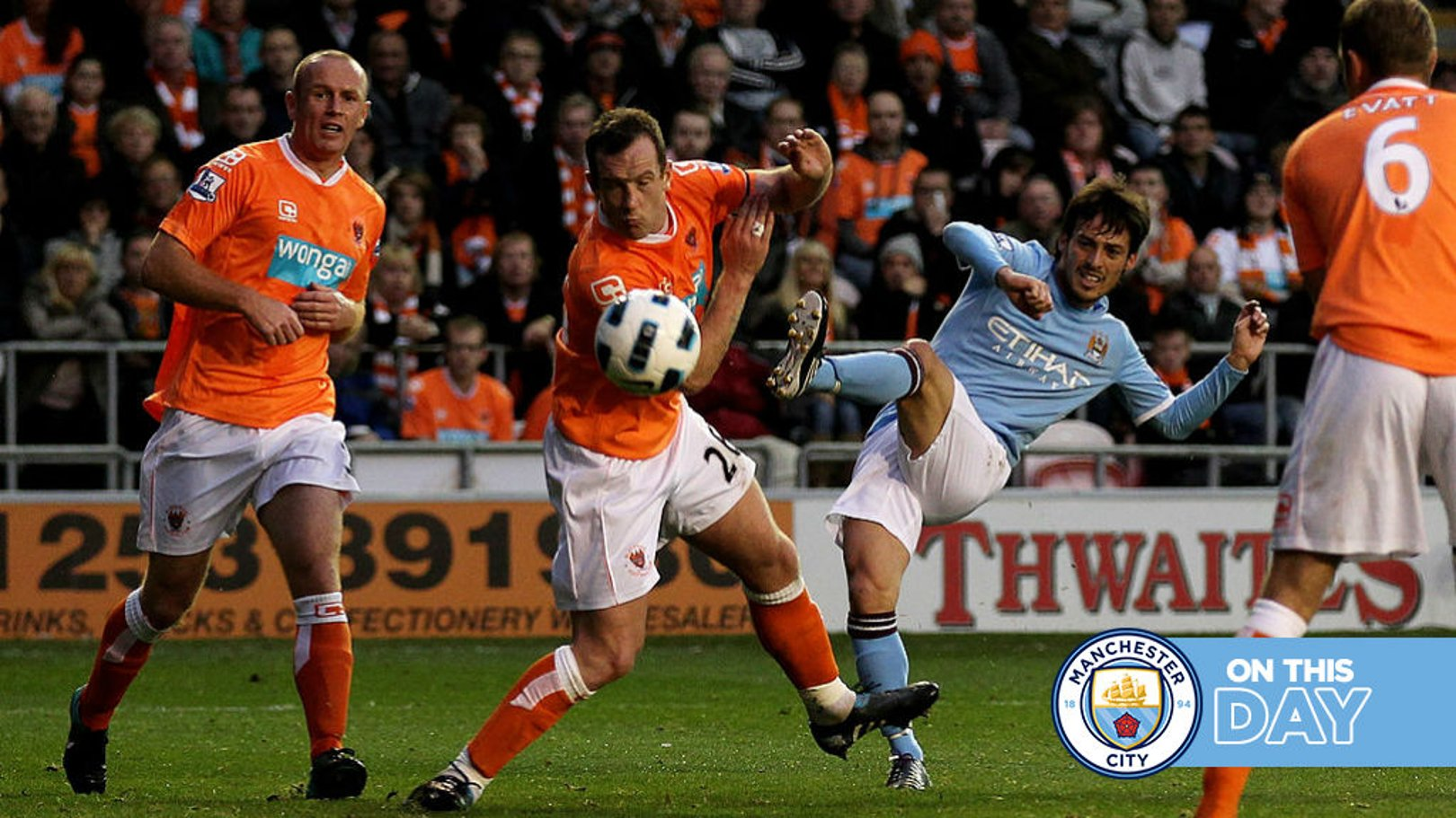 On this day: Silva's Blackpool gem and it's hats off to Sterling