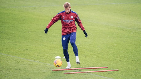 Kevin De Bruyne returns to training