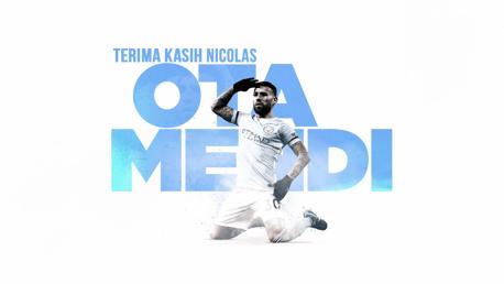 Nicolas Otamendi Bergabung Dengan Benfica