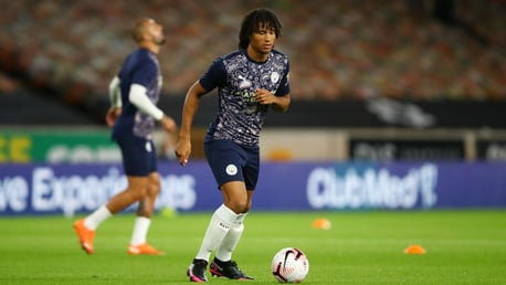 FIRST FOOTING: Summer signing Nathan Ake prepares for his City debut