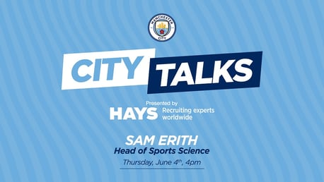 CITY TALKS: Sam Erith