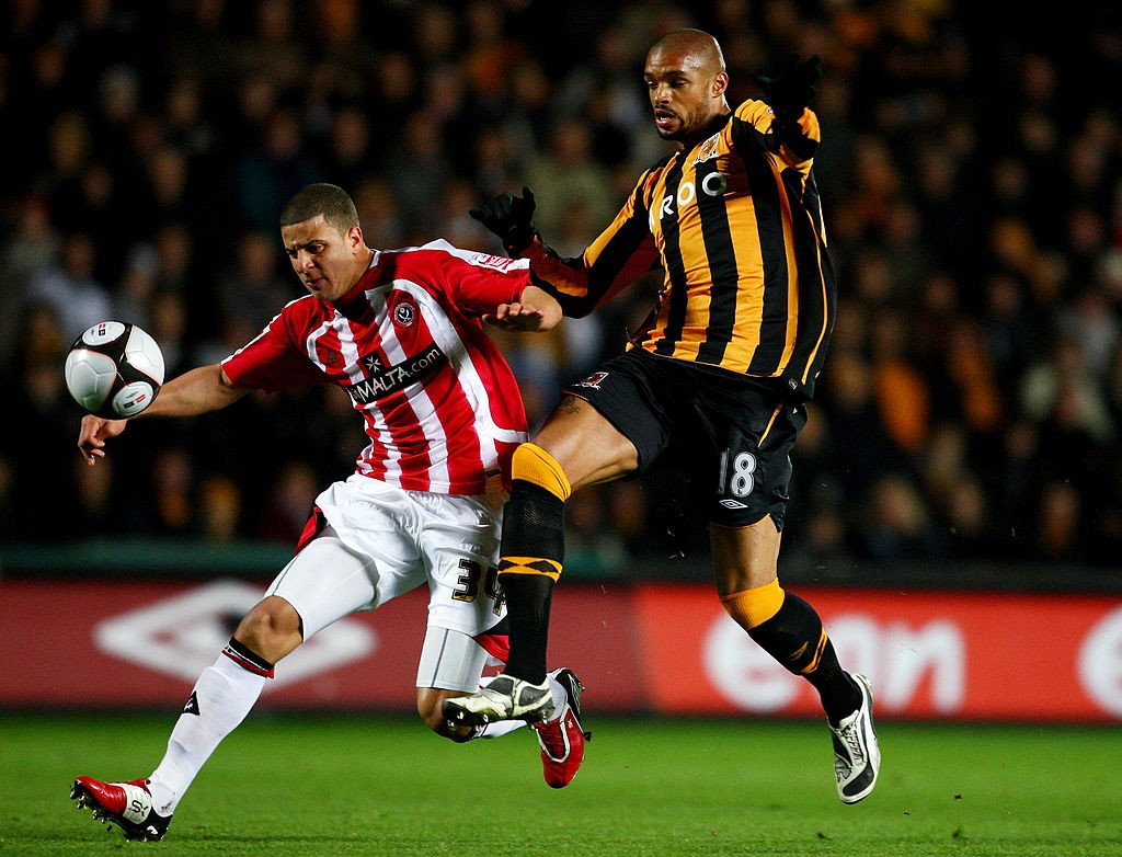 RAW POWER: Kyle Walker pictured in action for Sheffield United